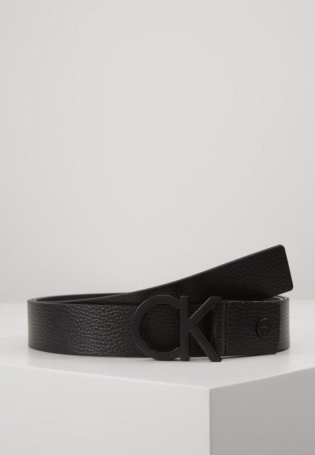 35MM BUCKLE PEBBLE - Pasek - black