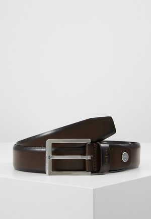 BOMBED BELT - Gürtel - brown
