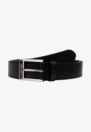 35MM ENAMEL BUCKLE  BELT - Riem - black