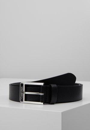35MM ENAMEL BUCKLE  BELT - Cinturón - black