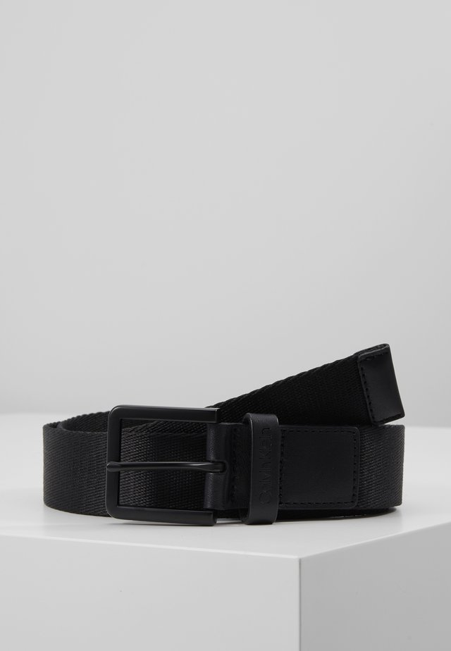 35MM ESSENTIAL PLUS WEBBING BELT - Gürtel - black