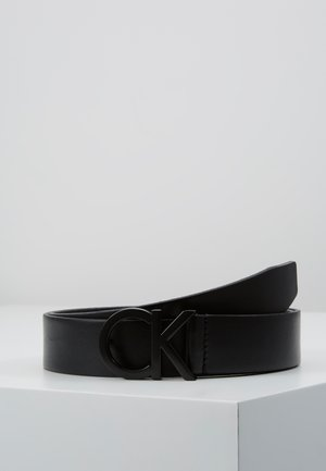 BUCKLE BELT - Riem - black