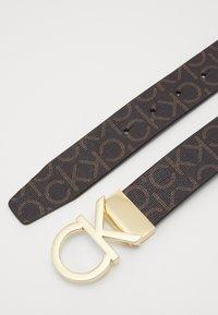 Calvin Klein - NEW MONO BELT - Belt - brown - 3