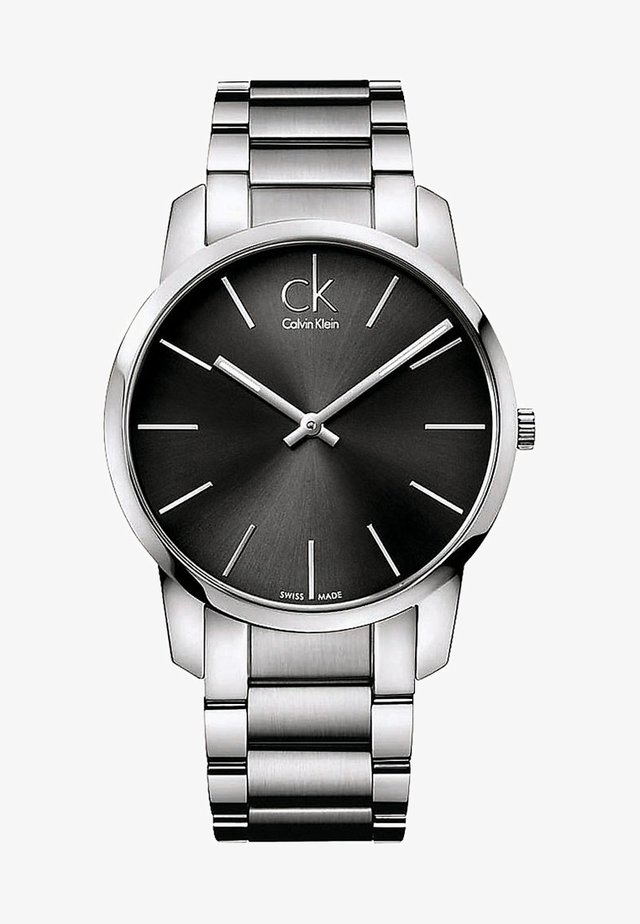 Watch - silver-coloured/anthracite
