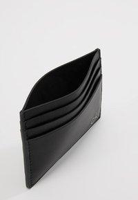 Calvin Klein - SMOOTH CARDHOLDER - Visitkortsfodral - black - 5
