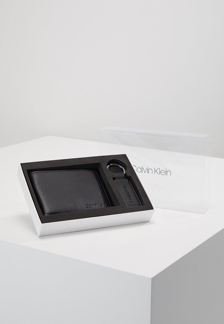 Calvin Klein - SMOOTH ESSENTIAL GIFTBOX SET - Sleutelhanger - black