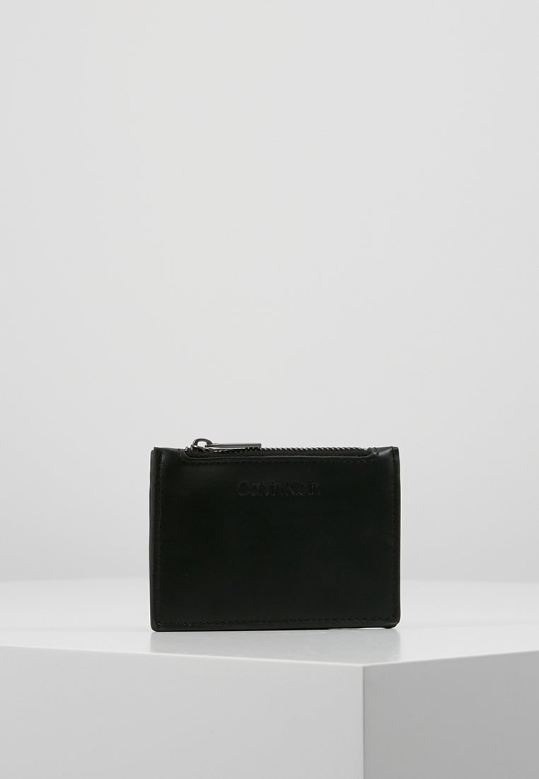 Calvin Klein - CARDHOLDER ZIP - Punge - black