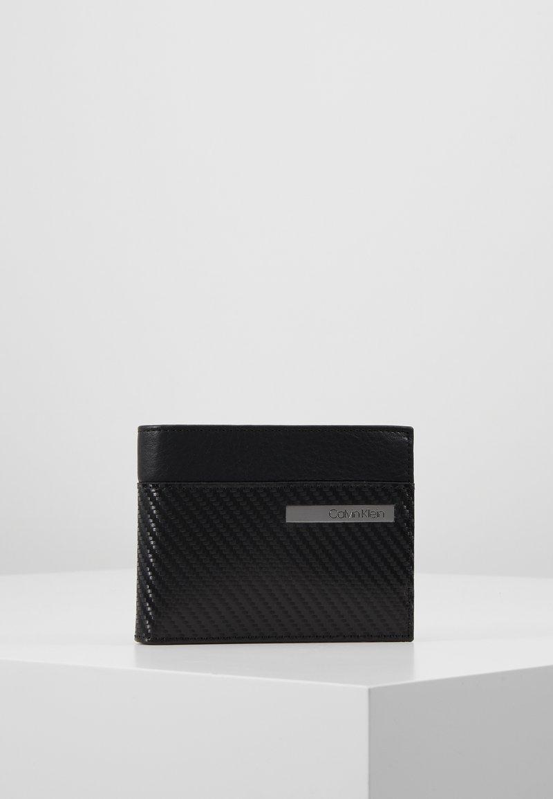 Calvin Klein - CARBON COIN - Peněženka - black