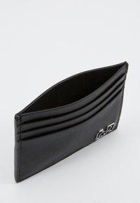 Calvin Klein - SIGNATURE CARDHOLDER - Peněženka - black - 5