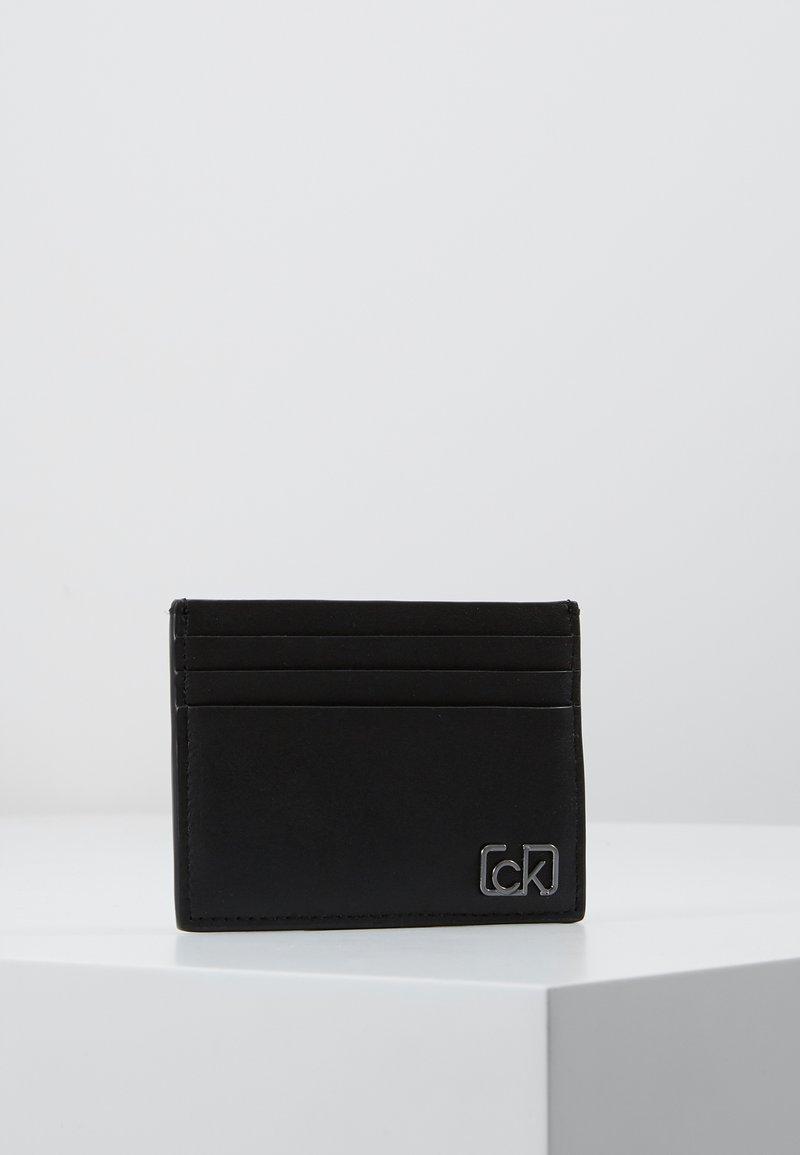 Calvin Klein - SIGNATURE CARDHOLDER - Peněženka - black