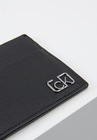 Calvin Klein - SIGNATURE CARDHOLDER - Peněženka - black - 2