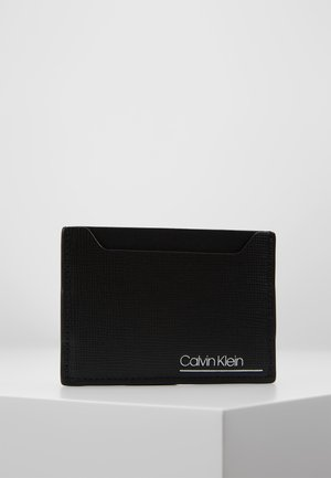 SLIVERED SIMPLE CARD CASE - Wallet - black