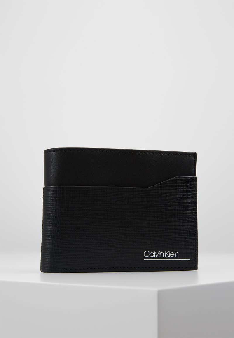 Calvin Klein - SLIVERED COIN - Lommebok - black