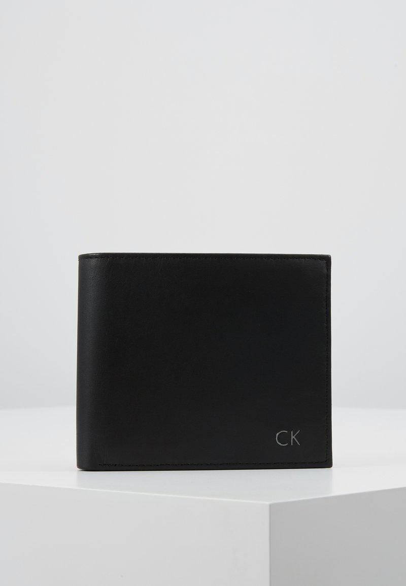 Calvin Klein - COIN PASS - Portemonnee - black