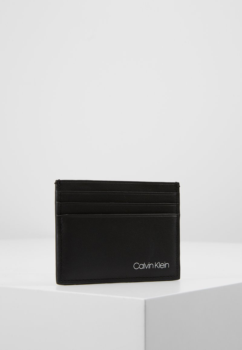 Calvin Klein - UNITED SIMPLE CARDHOLDER - Wallet - black