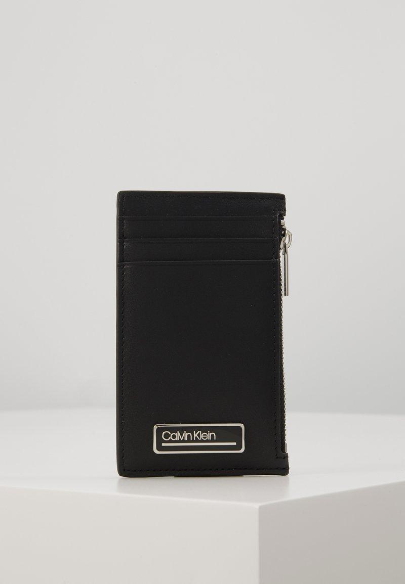 Calvin Klein - PRIMARY ZIP - Peněženka - black