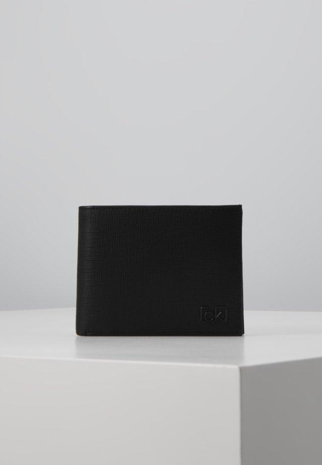 SIGNATURE COIN - Plånbok - black