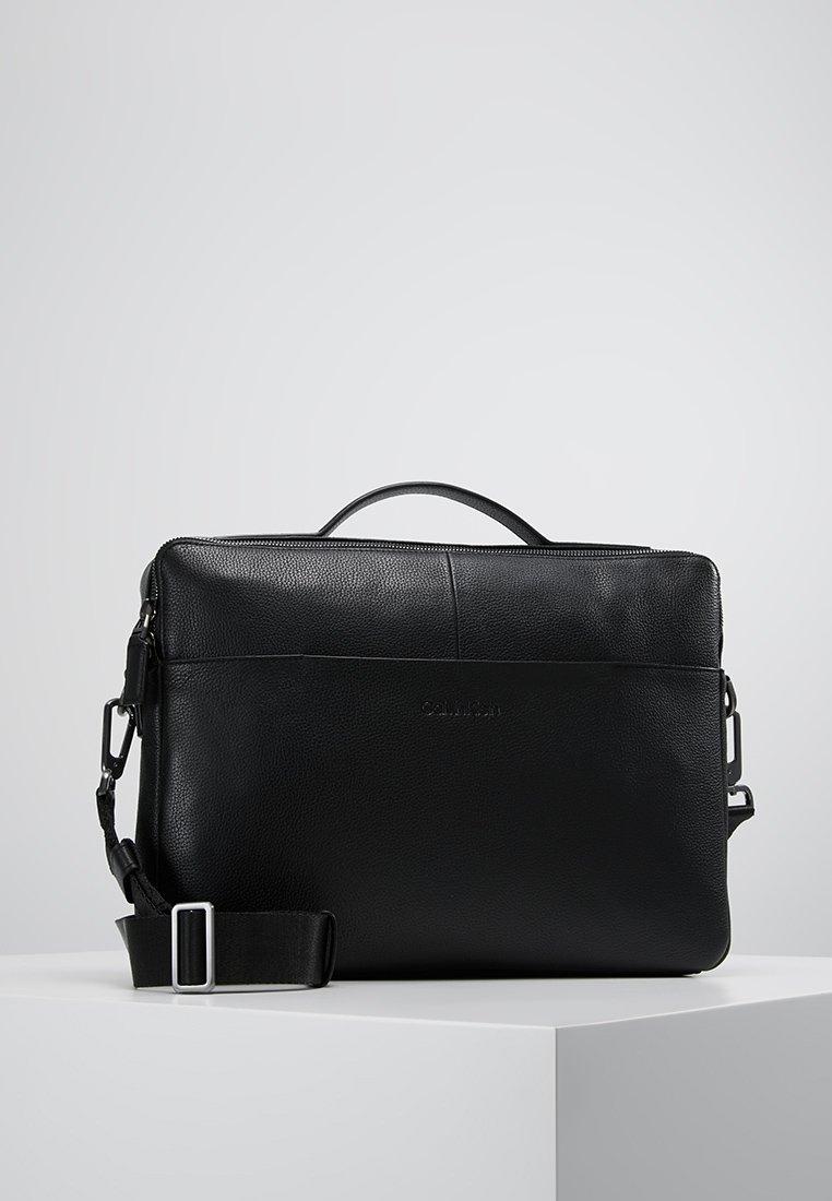 Calvin Klein - SLIM LAPTOP BAG - Borsa porta PC - black