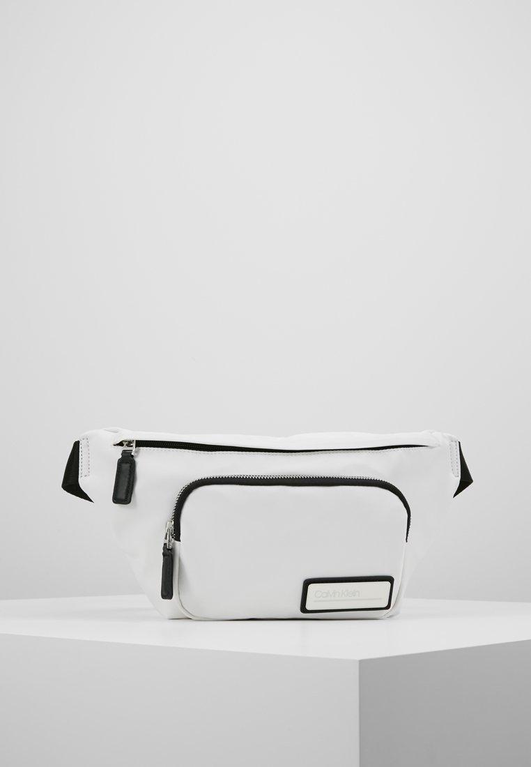 Calvin Klein - PRIMARY WAIST BAG - Marsupio - white