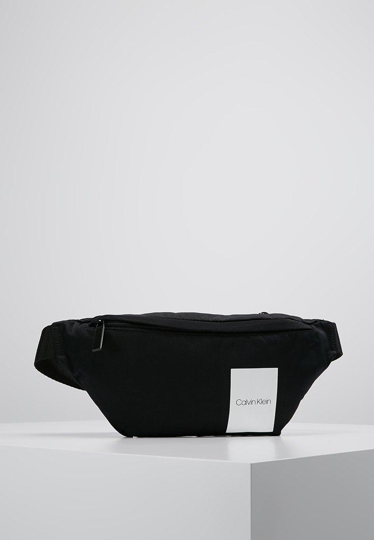 Calvin Klein - ITEM STORY WAIST BAG - Sac banane - black