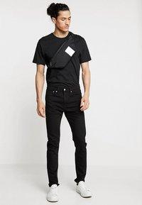 Calvin Klein - ITEM STORY WAIST BAG - Heuptas - black - 1