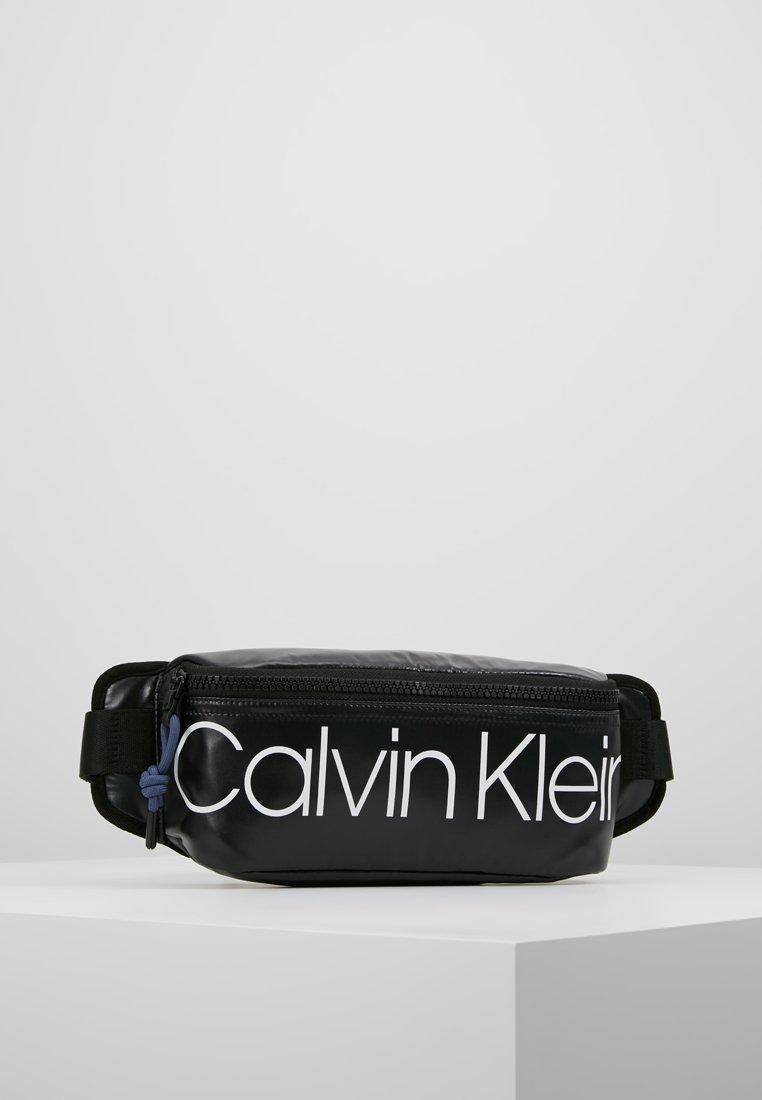 Calvin Klein - TRAIL WAISTBAG - Bum bag - black