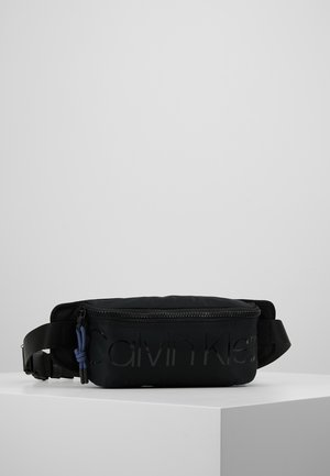 TRAIL WAISTBAG - Ledvinka - black