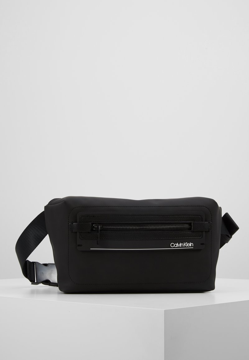 Calvin Klein - MOULDED WAISTBAG - Marsupio - black