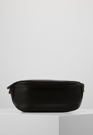 LOGO WAISTBAG - Riñonera - black