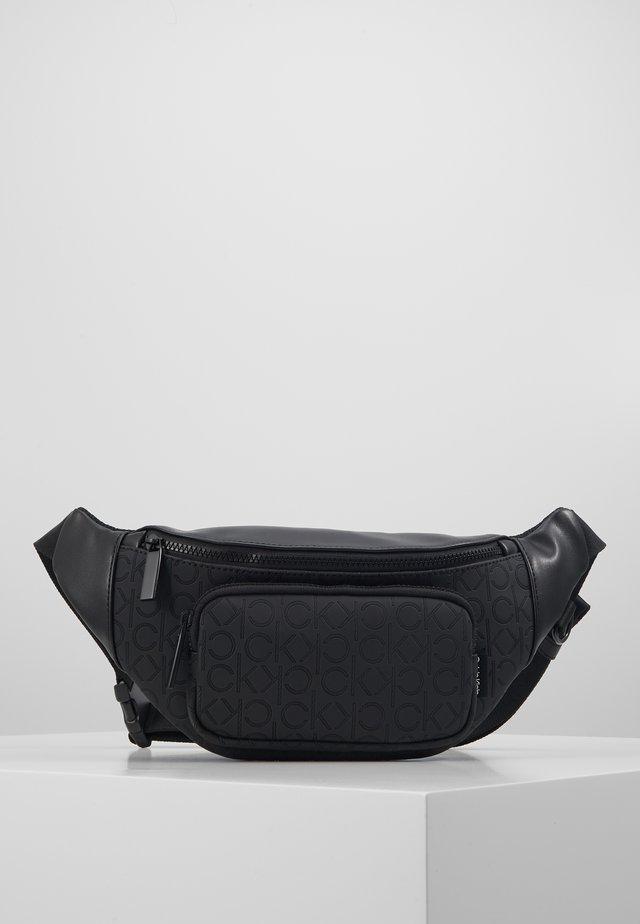 MONO BLEND WAISTBAG - Bum bag - black