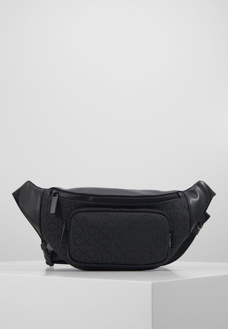 Calvin Klein - MONO BLEND WAISTBAG - Heuptas - black