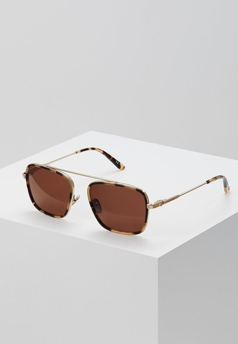 Calvin Klein - Occhiali da sole - gold-coloured/brown