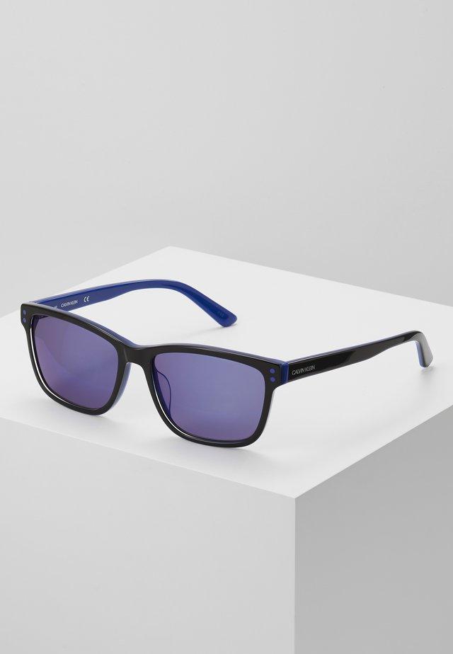 Sunglasses - black/cobalt