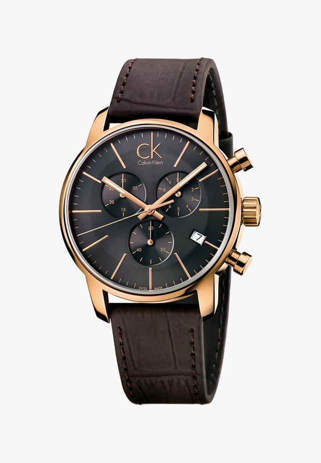 CITY - Chronograph watch - black