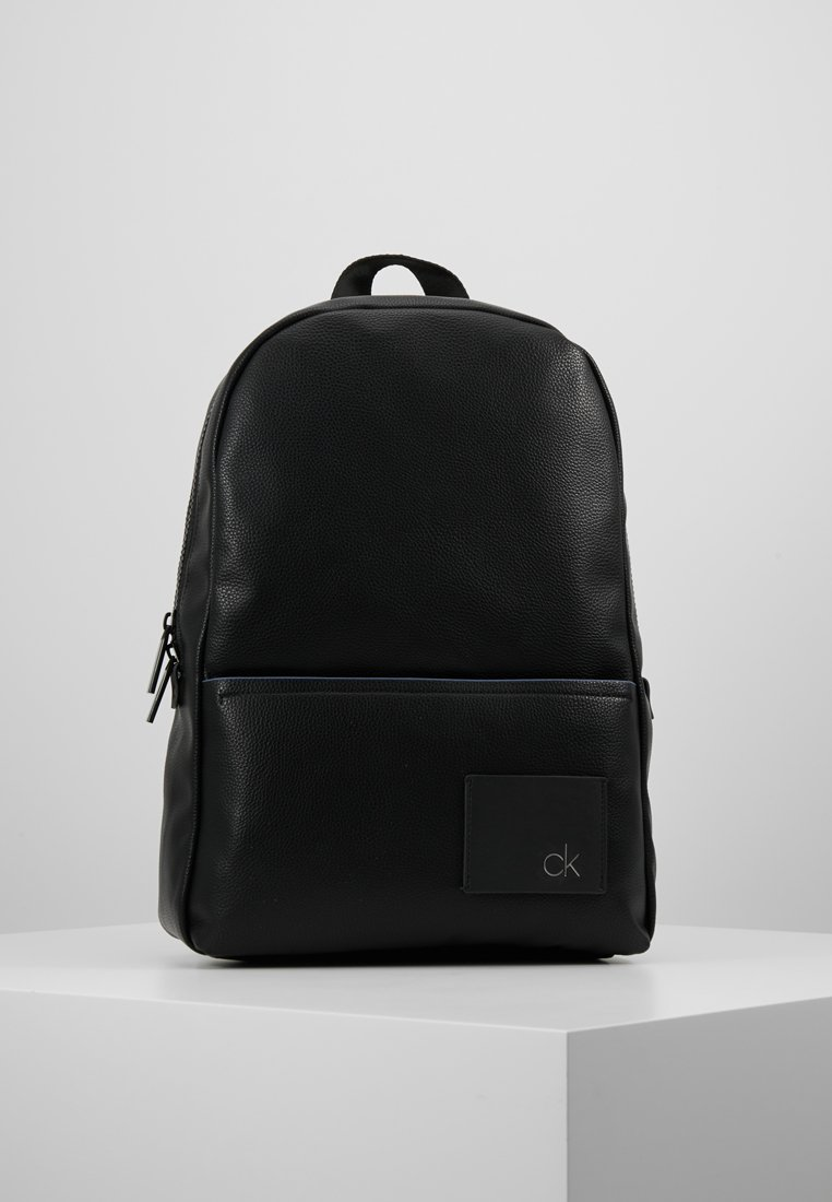 Calvin Klein - DIRECT ROUND BACKPACK - Rucksack - black