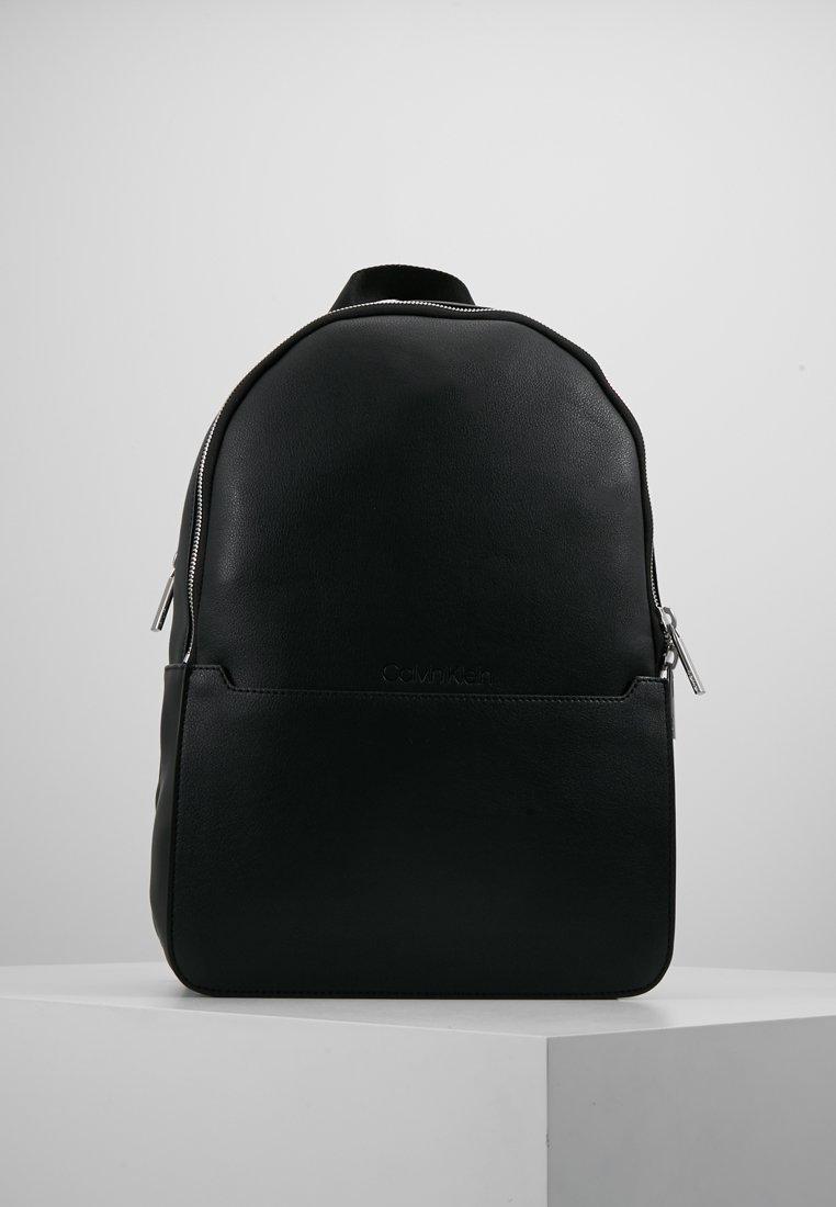 Calvin Klein - ROUND BACKPACK - Rugzak - black