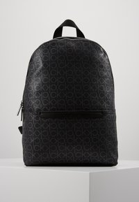 Calvin Klein - MONO ROUND BACKPACK - Sac à dos - black - 0