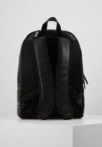 Calvin Klein - LOGO ROUND BACKPACK - Reppu - black - 2