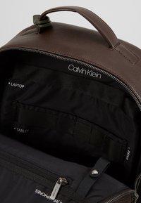 Calvin Klein - POCKET  BACKPACK - Reppu - black - 5