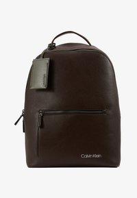 Calvin Klein - POCKET  BACKPACK - Reppu - black - 1