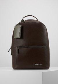 Calvin Klein - POCKET  BACKPACK - Reppu - black - 0