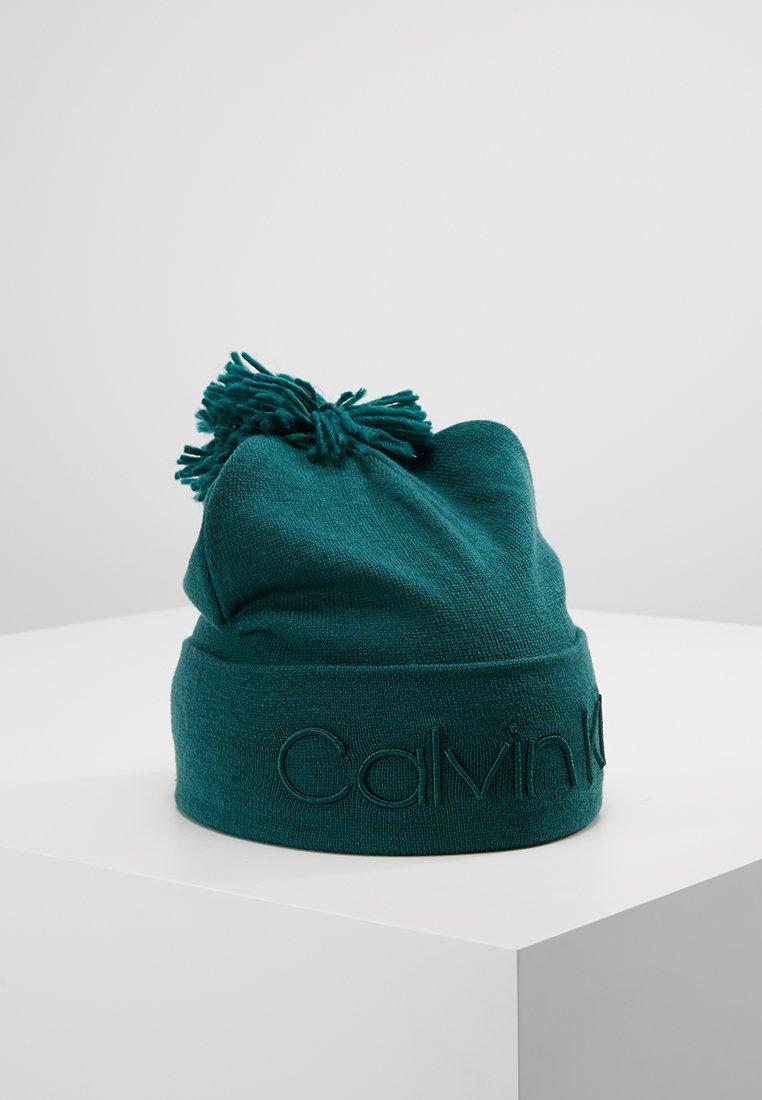 Calvin Klein - FASHION POM POM BEANIE - Mütze - petrol