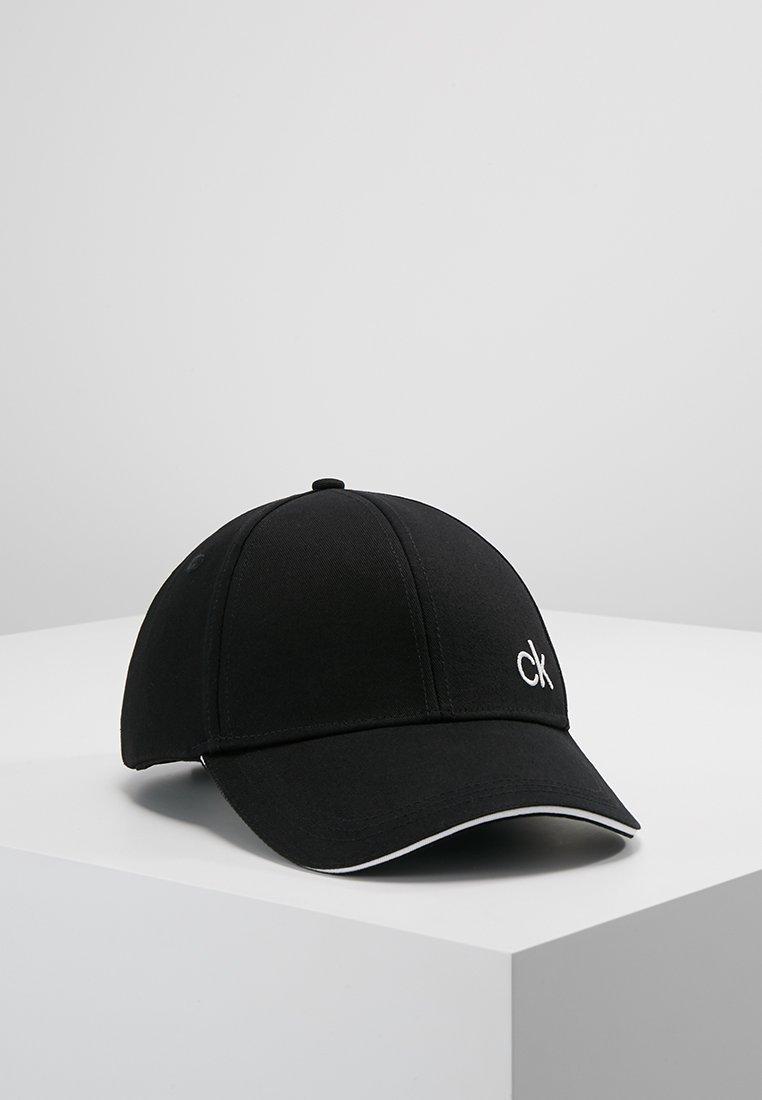 Calvin Klein - CONTRATS EDGE - Casquette - black