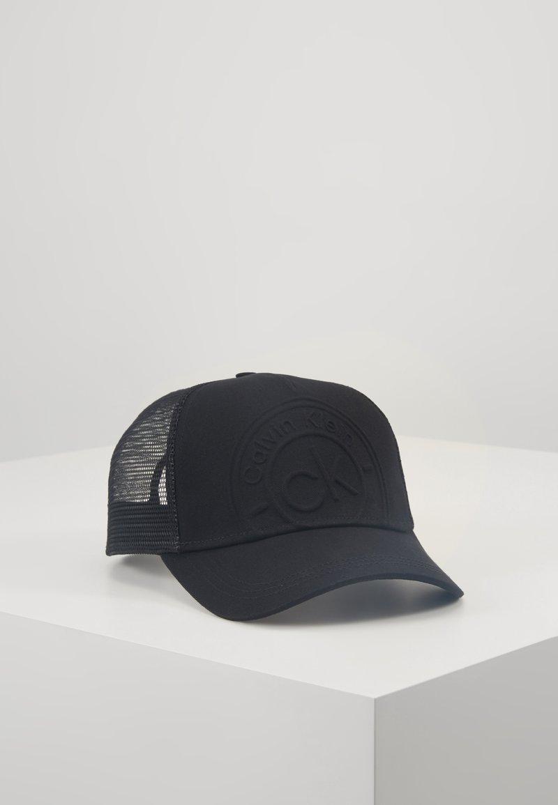 Calvin Klein - AVAILED TRUCKER - Cap - black