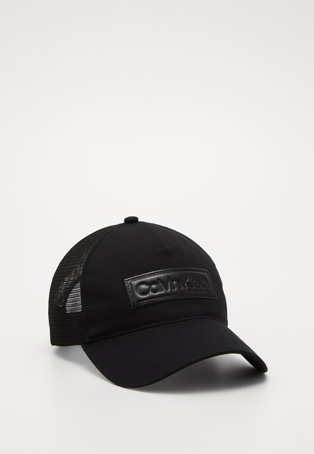 HIGH RAISED  TRUCKER - Caps - black