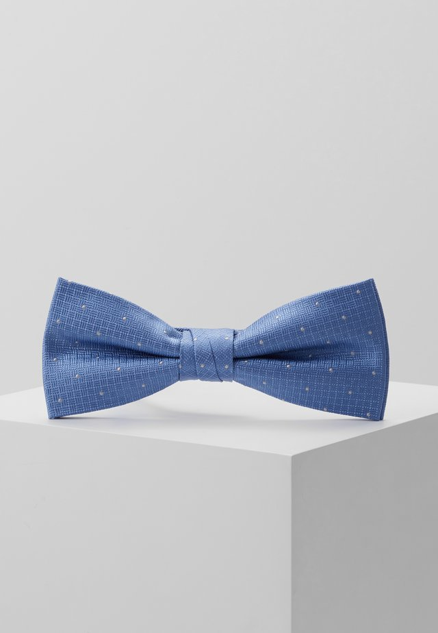 TEXTURED GROUND DOT BOW TIE - Butterfly - light blue