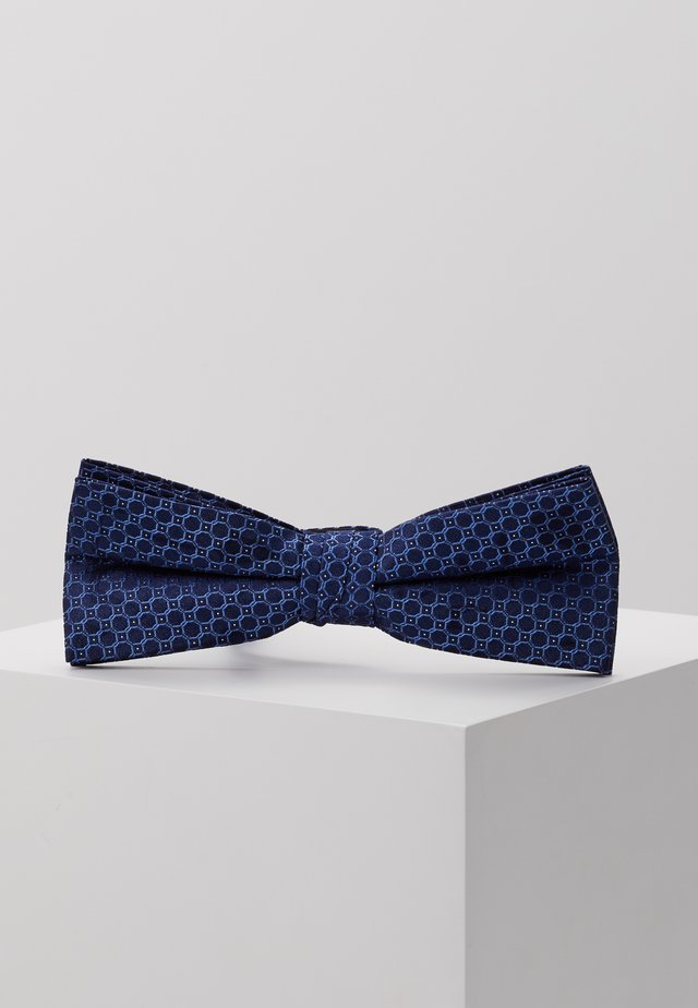 CHAINLINK CIRCLES BOW TIE - Butterfly - navy