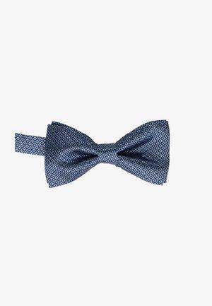 DIAMOND MOTIF BOW TIE - Papillon - blue