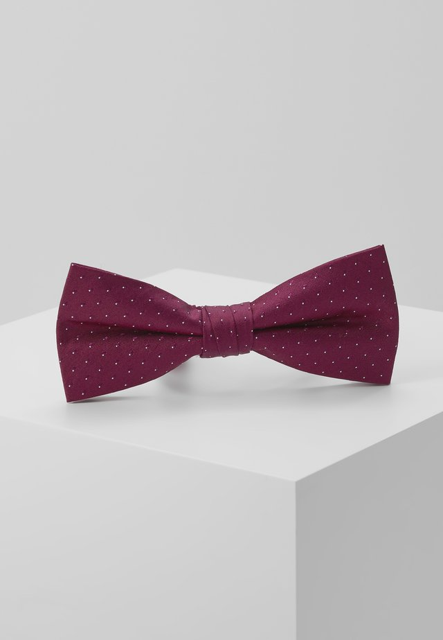 SHADOW DOT BOWTIE - Butterfly - anthem red