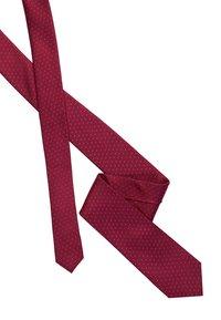 Calvin Klein - SHADOW DOT TIE - Kravata - anthem red - 2